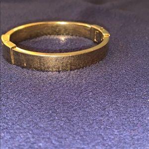 Michael Kors gold bangle pre owed